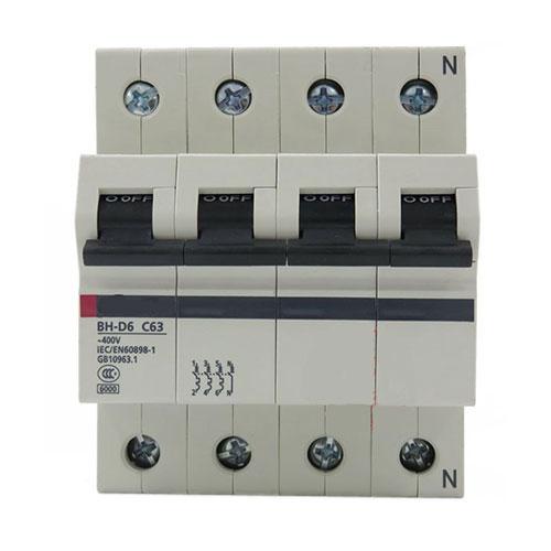 Aptomat (MCB) Mitsubishi BH-D6 4P 0.5A