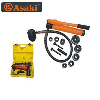 Bộ đột lỗ tole thủy lực Asaki AK-0611