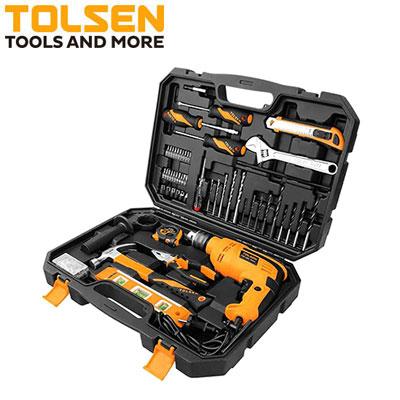 Bộ dụng cụ máy khoan Tolsen 79685