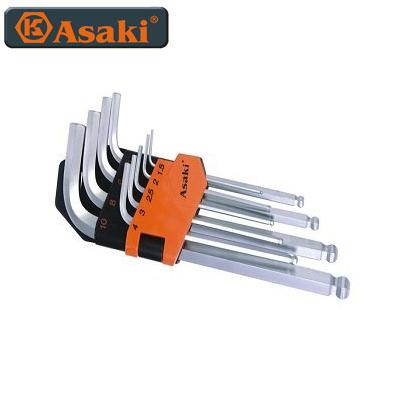 Bộ lục giác bi Asaki AK-0409