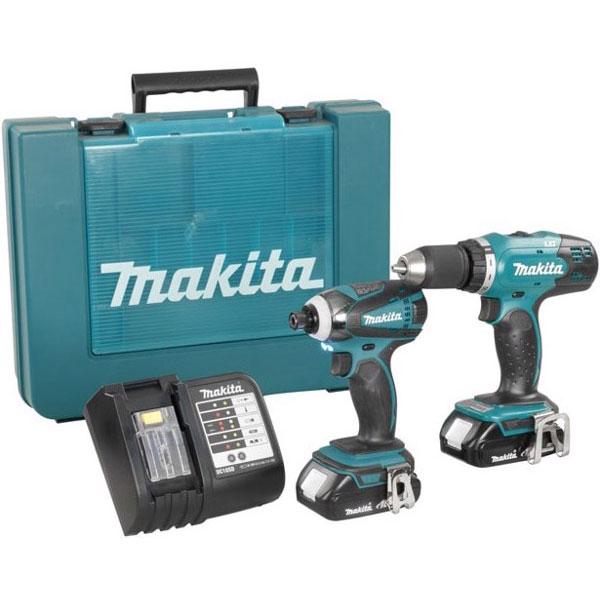 Bộ máy khoan bắt vít Makita DLX2022