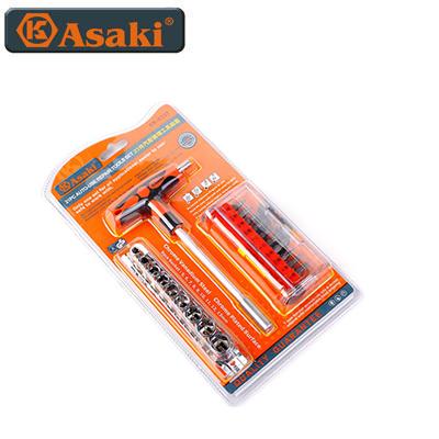 Bộ mũi vít & đầu tuýp Asaki AK-6357