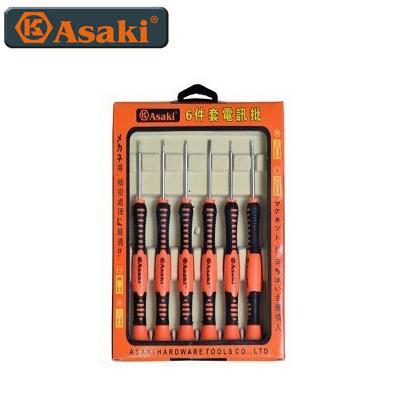 Bộ tua vít viễn thông Asaki AK-9075