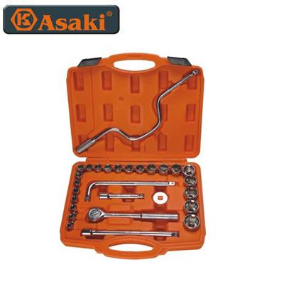 Bộ tuýp 28 chi tiết Asaki AK-9761