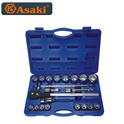 Bộ tuýp và vòng miệng Asaki AK-9758