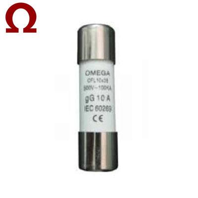 Cầu chì ống Omega 10x38mm 10A