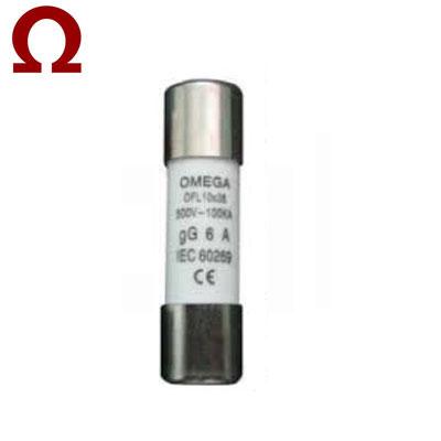 Cầu chì ống Omega 10x38mm 6A