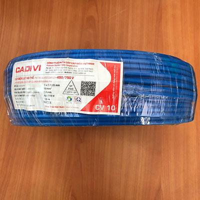 Dây Điện Đơn Cadivi CV 10.0 - 0,6/1kV