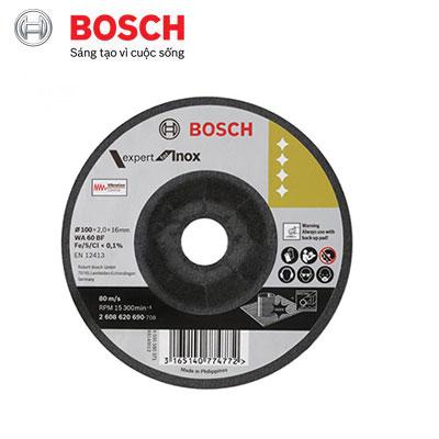 Đá mài linh hoạt inox Bosch 2608620690