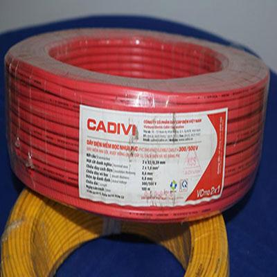Dây điện đôi Cadivi VCmd 2x1.0 - 0,6/1kV