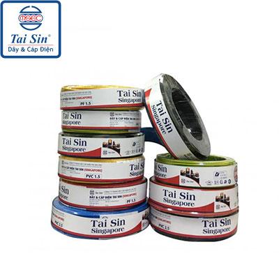 Dây Đơn Taisin PVC 1Cx4.0mm2