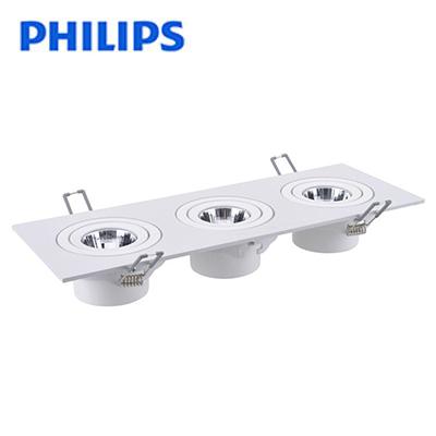 Đèn led âm trần Philips GD022B 3x6W10W