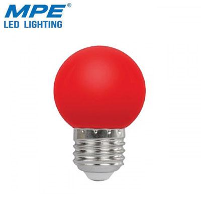 Bóng đèn LED bulb đỏ MPE 1.5W LBD-3R