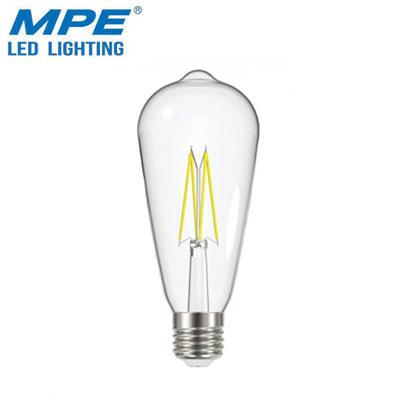 Bóng đèn LED MPE 6W FLM-6/ST64