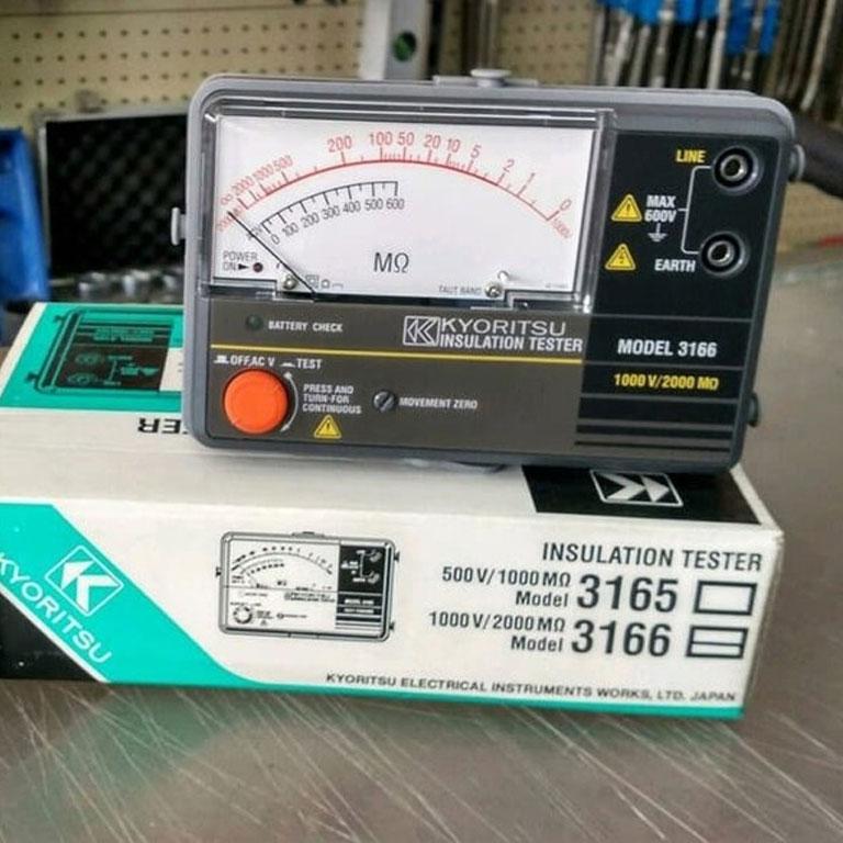Máy đo điện trở cách điện Kyoritsu 3166