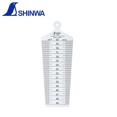 Dưỡng đo lỗ 45-60mm Shinwa 62615