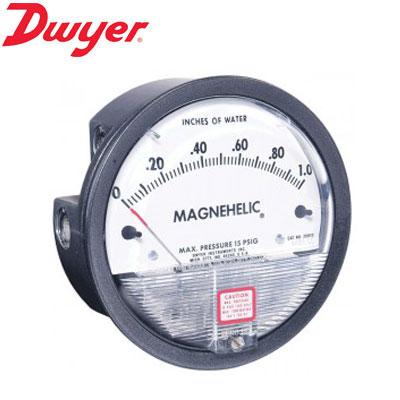 Đồng hồ chênh áp Dwyer 2000-6MM