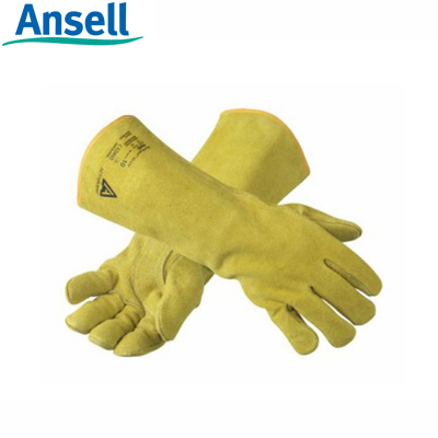 Găng tay da thợ hàn Ansell 43-216