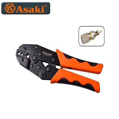 Kềm bấm đầu nối cáp Asaki AK-9125