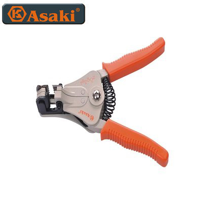Kềm tuốt dây điện tự động Asaki AK-0340
