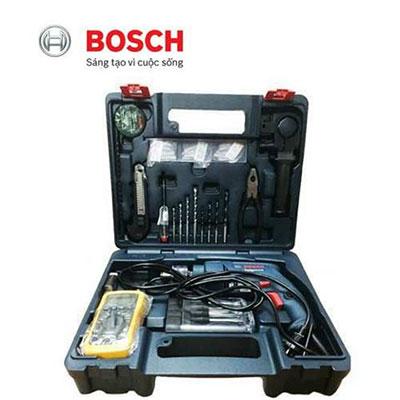 Bộ máy khoan 100 món Bosch GSB 550