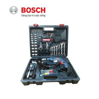 Bộ máy khoan 122 món Bosch GSB 550