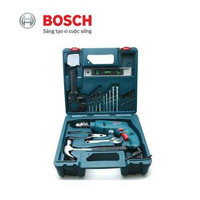 Bộ máy khoan 19 món Bosch GSB 550