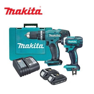 Bộ máy khoan máy vặn vít Makita DLX2240