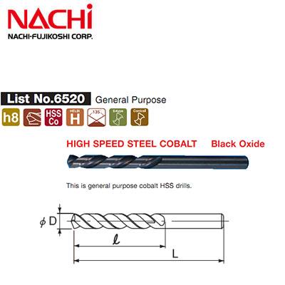 Mũi khoan Inox Nachi D11 List 6520