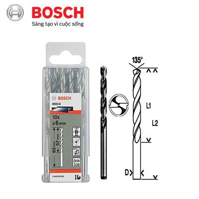 Mũi Khoan Kim Loại D6 Bosch 2608595066