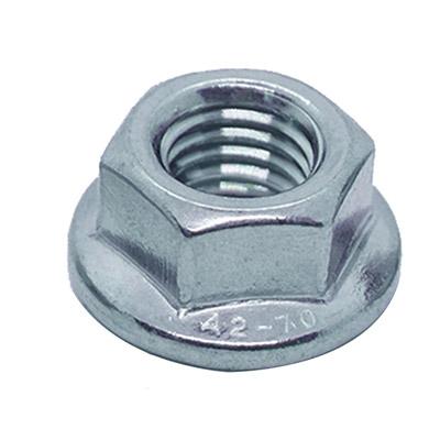 Tán Khía Inox 304 DIN 6923 - Flange Nut