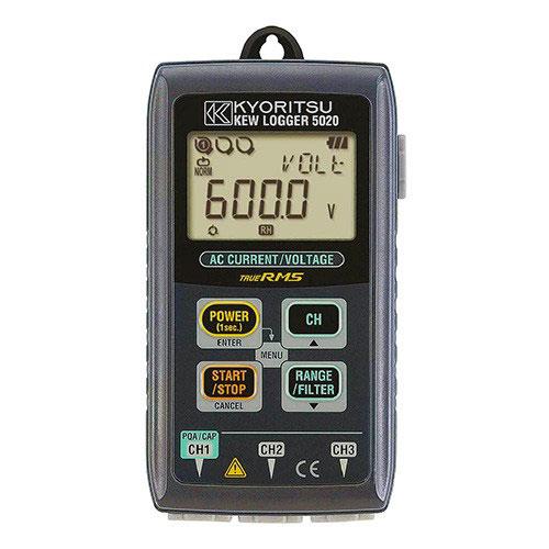 Thiết bị ghi dữ liệu- dòng rò Kyoritsu 5020