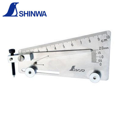 Thước đo mối hàn Shinwa 58695