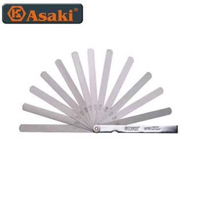 Thước lá đo khe hở Asaki AK-0136