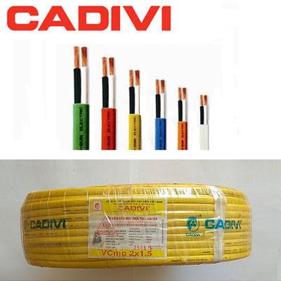 Dây Điện Cadivi VCmo 2x1.5 - 450/750V