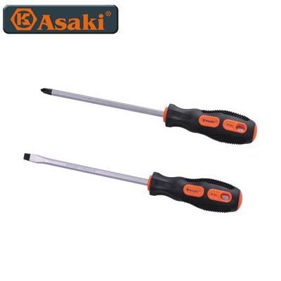 Vít cán cao su đen, có hít Asaki AK-6186