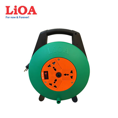 Ổ cắm quay tay LIOA XTD10-3-15A